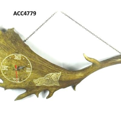 Reloj pala de gamo, Asta de Ciervo, gamo y corzo, International Antler Trading SL