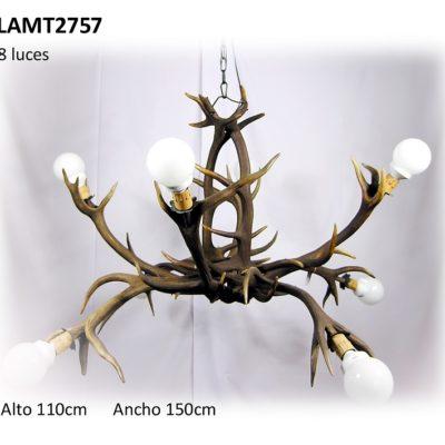 Lámpara cangrejo, Asta de Ciervo, gamo y corzo, International Antler Trading SL