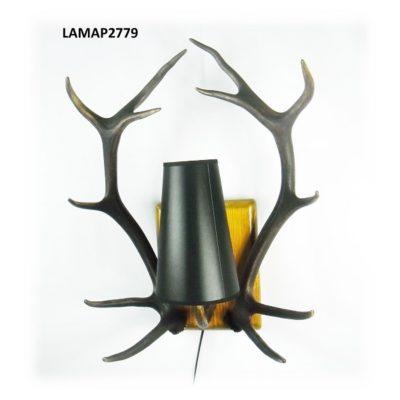 Aplique de ciervo, Asta de Ciervo, gamo y corzo, International Antler Trading SL