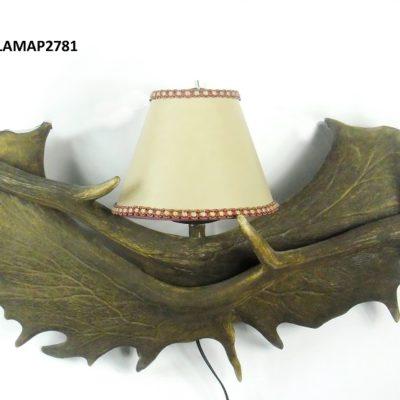 Aplique de gamo con tulipa, Asta de Ciervo, gamo y corzo, International Antler Trading SL