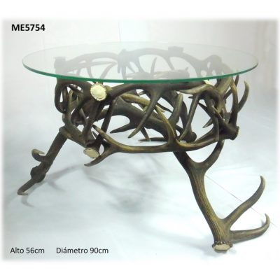 Mesa rueda, Asta de Ciervo, gamo y corzo, International Antler Trading SL